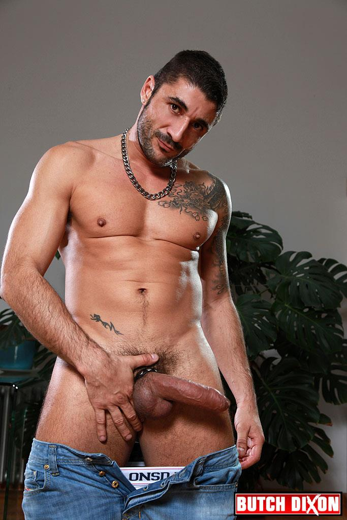 Butch-Dixon-Kris-Kurt-and-Max-Toro-Big-Uncut-Cocks-Bareback-Fucking-Amateur-Gay-Porn-09 Max Toro Barebacking Kris Kurt's Slutty Ass With His Huge Uncut Cock