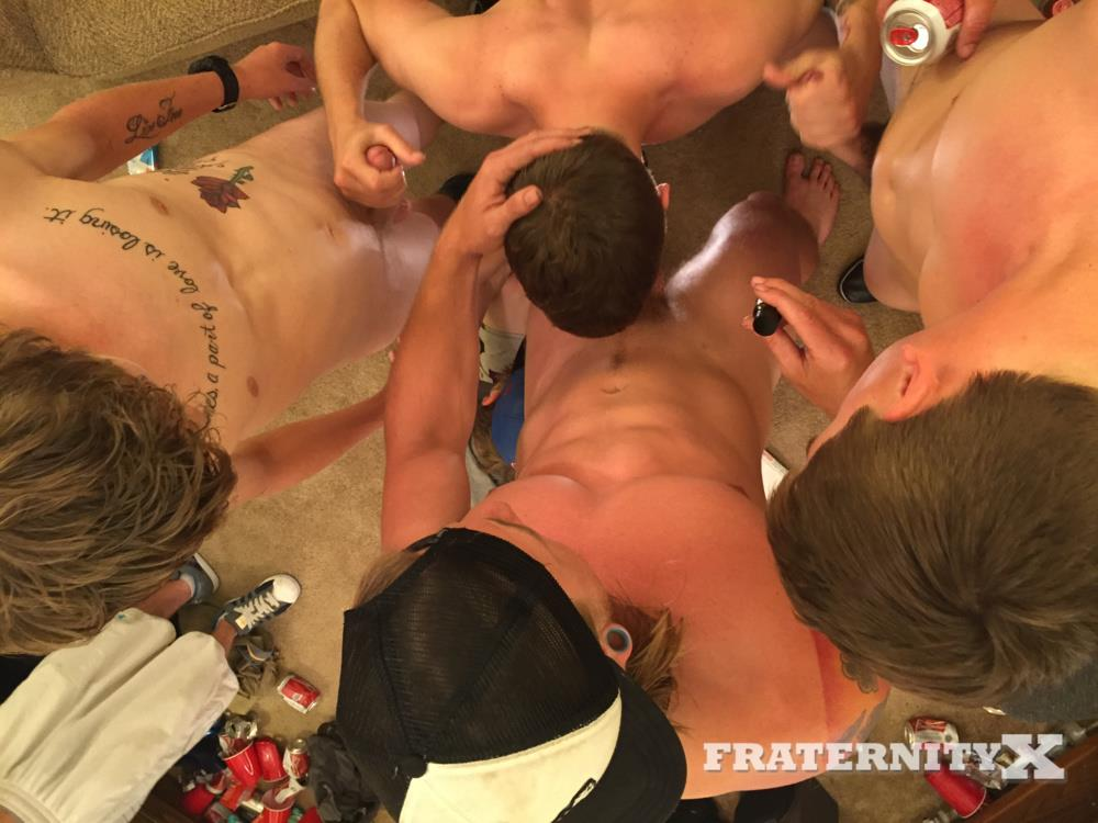 Fraternity-X-Drunk-Frat-Guys-Barebacking-A-Freshman-Ass-Amateur-Gay-Porn-08 College Freshman Gets Gang Barebacked By Horny Frat Guys