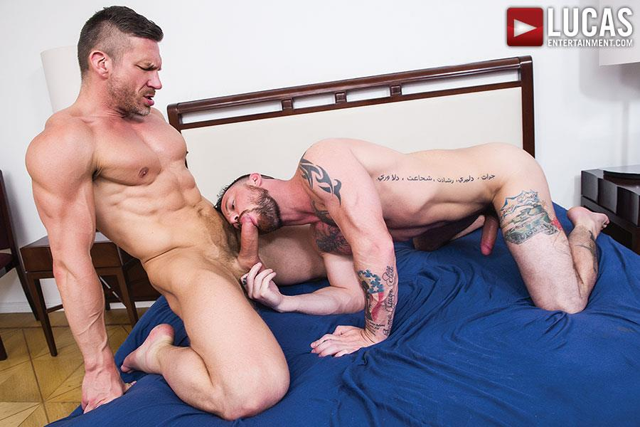 Lucas-Entertainment-Sergeant-Miles-and-Tomas-Brand-Military-Guy-Gets-Big-Uncut-Cock-Bareback-Amateur-Gay-Porn-05 Army Sergeant Miles Takes A Huge Uncut Bareback Cock Up His Tight Ass