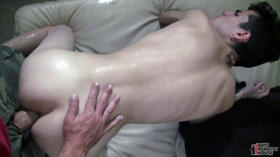 Boys-Halfway-House-Gideon-Twink-Gets-Barebacked-In-The-Ass-Amateur-Gay-Porn-10 19 Year Old Twink Gets Fucked Raw At A Halfway House
