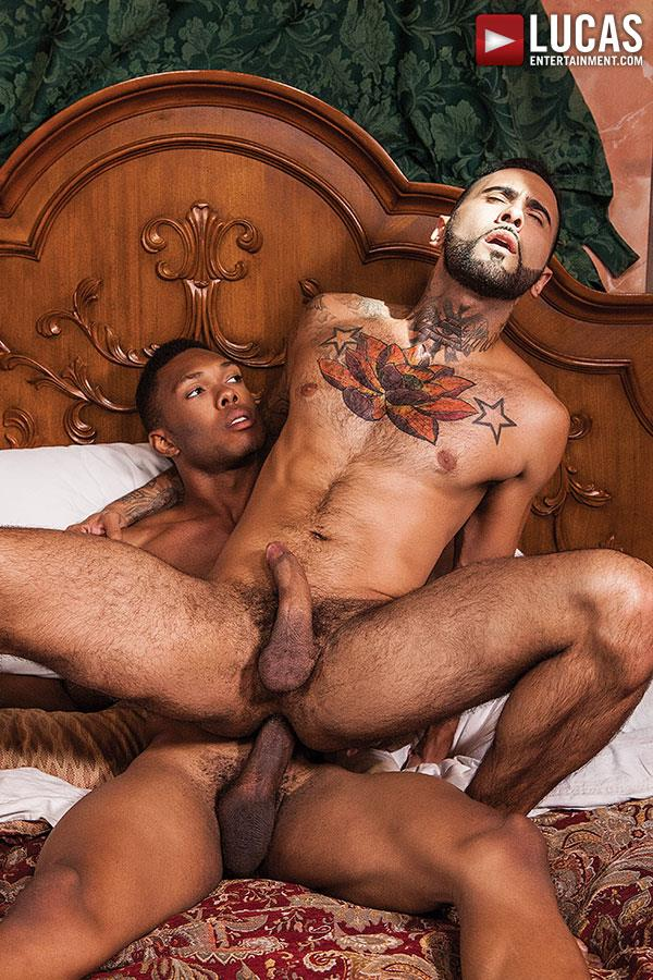 Lucas-Entertainment-Rikk-York-and-DK-Interracial-Bareback-Sex-Amateur-Gay-Porn-03 Rikk York Takes A Massive Big Black Cock Raw Up The Ass